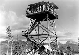cinnamon e lookout tower umpqua national forest oregon