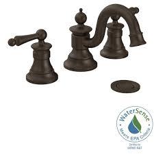 moen high arc bathroom faucet. moen waterhill 8 in. widespread 2-handle high-arc bathroom faucet trim kit moen high arc c