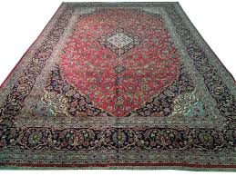 11x17 rug pred owned persian kashan rug only hand knotted rugs rug pictures full view of the carpet