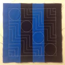 Quilting Designs For A Rail Fence Quilt 13 Quilt A Rail Fence With Circles Stairs Free Motion