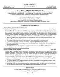 Sales Account Manager Job Description Template Key Managers Resume