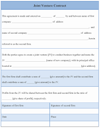 Joint Partnership Agreement Template Jv Agreement Beautiful Joint Venture Agreement Template Sample 22