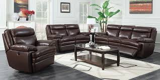 Delightful Stunning Top Grain Leather Living Room Set Costco