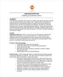 Caterer Resume 6 Catering Resume Templates Pdf Doc Free Premium Templates