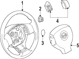 parts com® nissan versa steering column assembly oem parts 2008 nissan versa sl l4 1 8 liter gas steering column assembly