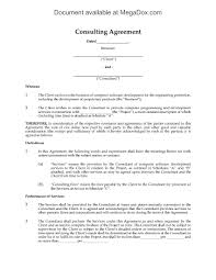 Consultant Contract Template Canada Consulting Agreement For Software Development Legal Forms 6