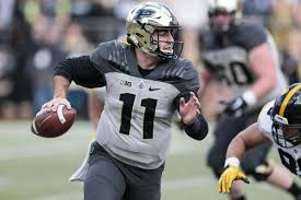 Purdue To Face Challenge From Auburn Stidham Purdue Boilermakers