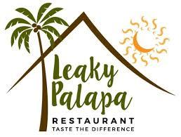 restaurants logo with a palm tree. Wonderful Tree Leaky Palapa Restaurant Logo With Restaurants A Palm Tree