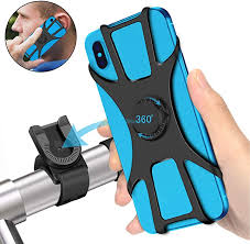 SYOSIN Universal Bike <b>Phone</b> Holder, 360° Rotatable Adjustable ...