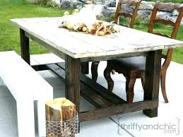 farmhouse patio furniture outdoor table make out of pallets or cedar style metal chairs how to build your own patio furniture amazing how
