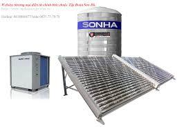 Máy nước nóng năng lượng mặt trời Thái Dương Năng công nghiệp 1000l
