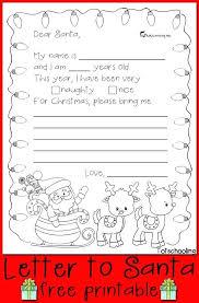 Santa List Template Free Letter To Printable Google Classroom Santa Template Uk