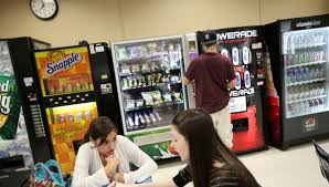 Large Vending Machines Gorgeous Why Do We Allow JunkFilled Vending Machines In Our Schools The