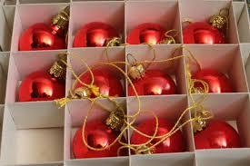 18 Glaskugeln Rot Gelb Christbaumkugeln Christbaumschmuck Weihnachtsdekoration