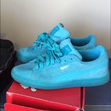 puma shoes pink and blue. all blue pumas puma shoes pink and