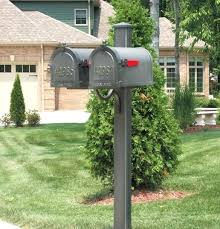 Aluminum mailbox post Granite Post Gang Mailboxes Aluminum Mailbox Post Mailbox Pole Mailboxes Post Heavy Duty Mailbox Rust Free Post Gang Box Multiple Mailboxes Upscale Mailbox Gang Hayneedle Gang Mailboxes Aluminum Mailbox Post Mailbox Pole Mailboxes Post