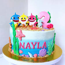 77 baby shark cake ideas to steal for
