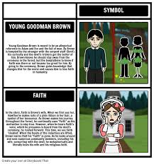 young goodman brown symbolism and allegory storyboard