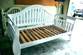 wood daybed frame white day bed wooden with trundle by coaster furniture frames for uk