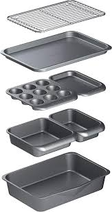MasterClass Smart Space <b>7 Piece</b> Stackable Bakeware Set with ...