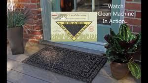 The Clean Machine® Scraper Door Mat and How We Trap the Dirt - YouTube
