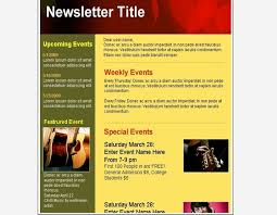 Music Newsletter Templates Club Newsletter Templates Under Fontanacountryinn Com