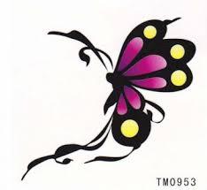 Tetování Nalepovací Motýl Barevný