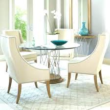dining tables circle glass dining table dinner set round room top din