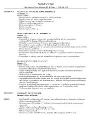 Retail Pharmacist Resume Pharmacist Pharmacy Resume Samples Velvet Jobs 11