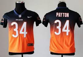 Elite Discount Fashion Jersey Blue Nfl Walter Nike The 60 Stitched Bears Fadeaway Free Payton Provide Youth Shipping amp; 34 orange Navy|COHEN'S Corner Sports