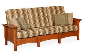 amish paneled mission morris sofa