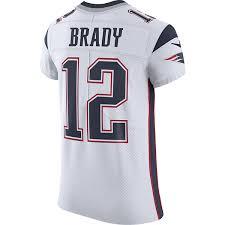 Tom Brady Brady Tom White Jersey
