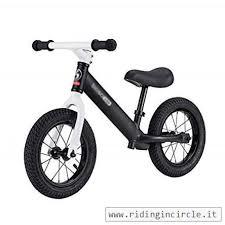 Bicicletta Senza Pedali Kids Balance Bike Seggiolino Regolabile