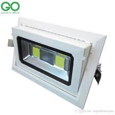 led downlights 50w cob rectangular recessed ceiling down lights 130 rectangular recessed lighting