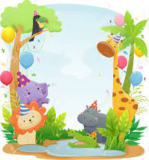 Jungle Safari Background Hd