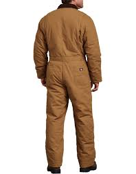 Sanded Duck Insulated Coveralls
