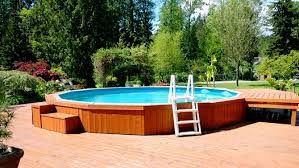 piscine hors terre semi creusée ou creusée