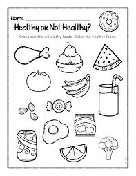 healthy foods worksheet free download the super teacher rh thesuperteacher com