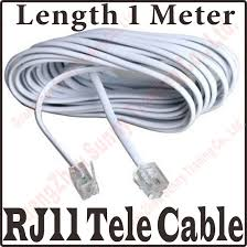 rj11 connector wiring reviews online shopping rj11 connector 3ft 1m 2 core rj11 copper telephone cable wire 6p2c connectors 6p2c plug rj11 telephone fax modems cable wire line