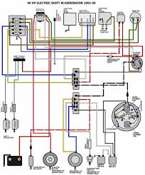 mastertech marine evinrude johnson outboard wiring diagrams 2016 Suzuki Outboard Wiring Diagram 40 hp electric shift 1961 1966 2016 df90a suzuki outboard wiring diagram