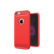 <b>Чехол Eva</b> для Apple IPhone 6/6s, силиконовый, цвет: красный ...