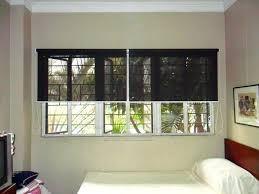 blackout blinds for bedroom installed roller blinds in city patterned roller blinds bedroom
