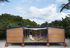 A low-cost vacation home designed in 1934 by architect Charlotte Perriand  was built 80