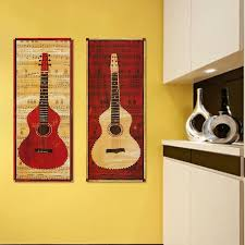diy guitar wall mount comfortable fine decorative guitar wall mount sketch art wall decor
