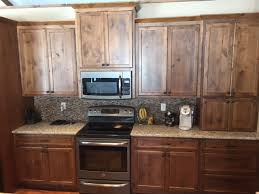 custom kitchen cabinetry stained rustic alder stillwater mn