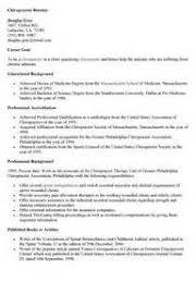 chiropractic assistant resume - Chiropractic Assistant Resume