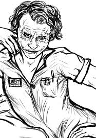 Small Picture The Joker Coloring Page by alyssathestar on DeviantArt