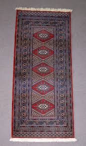 vintage belgian wool jacquard machine woven rug or runner a perfect jacquard woven reion