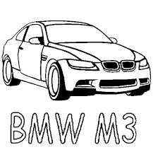 Auto Kleurplaten Bmw M3