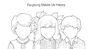 Forgiveness Coloring Page Entucorg